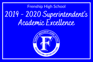 2019-2020 superintendents academic excellence top ten students