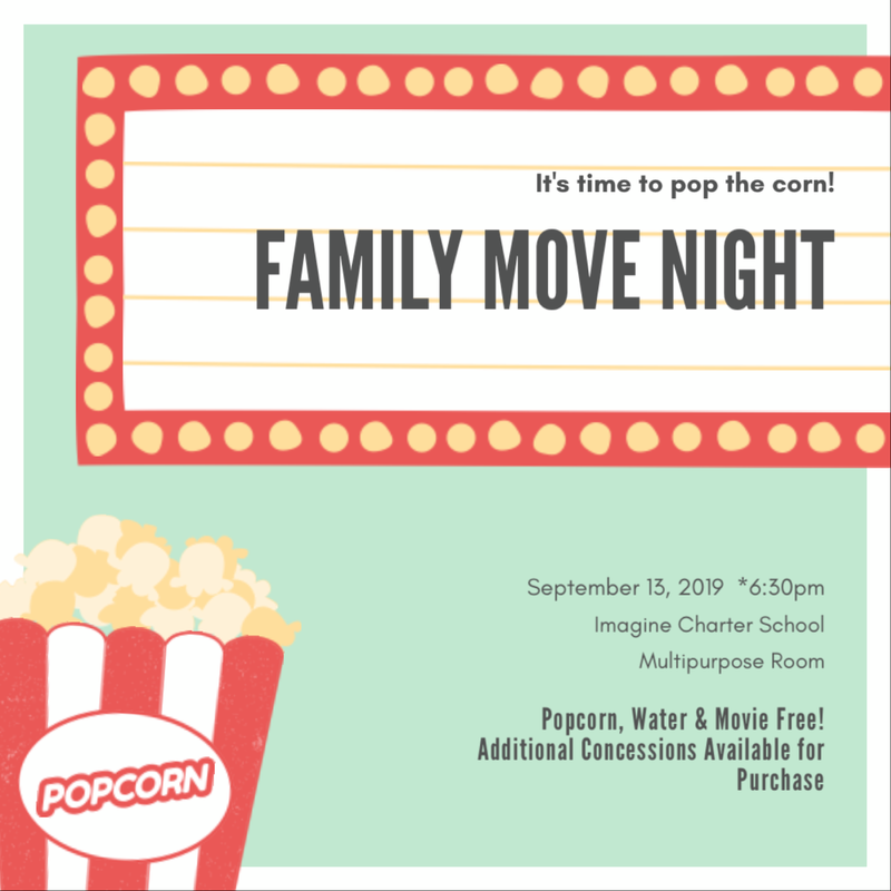 Family Movie Night - September 13 Featured Photo