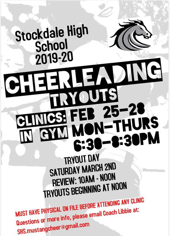 Cheerleading Tryouts Thumbnail Image