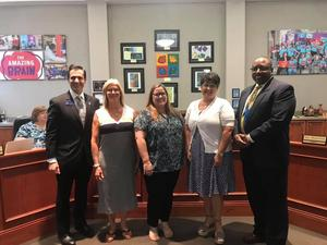 BOE Recognizes Above and Beyond Recipients