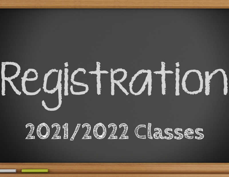 Registration 2021/2022