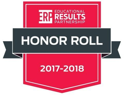 Champions - Honor Roll School for the 2017-2018 Texas Honor Roll