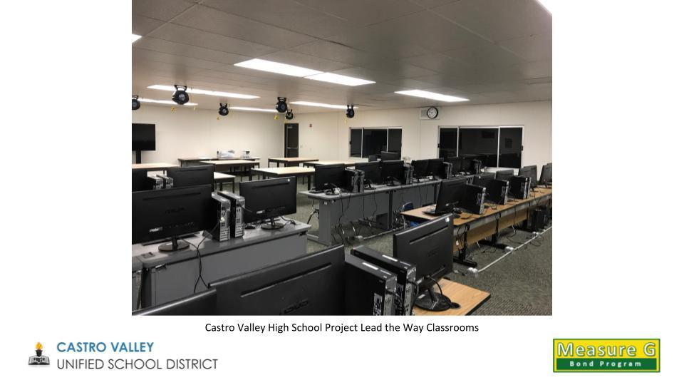 Castro Valley High School Project Lead the Way Classrooms