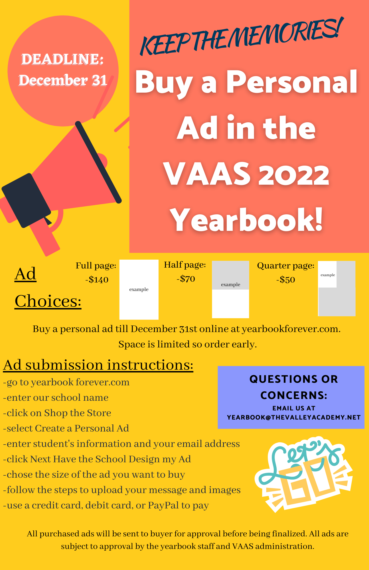 Personal Ad Flyer 2022
