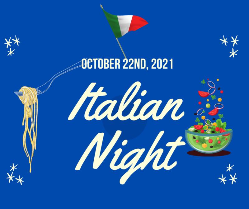 Mangiamo! Italian Night is Friday, October 22nd! Featured Photo