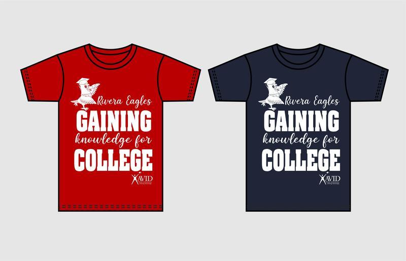 Rivera ES College Shirts