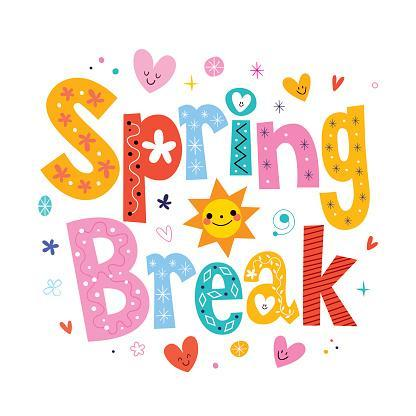 Spring Break Starts after Friday, March 29th! Thumbnail Image