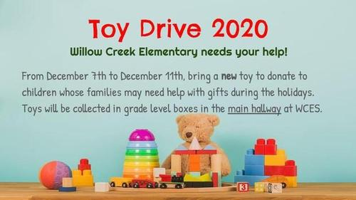 WCES Toy Drive