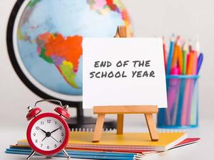 End of school year picture