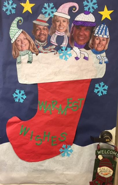 Administration in a stocking
