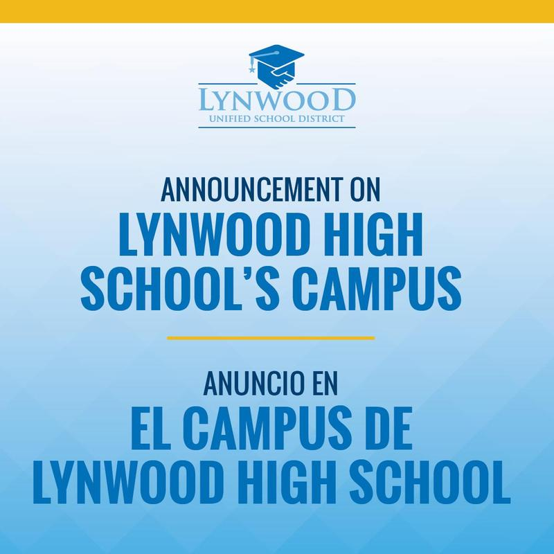 Lynwood Unified Makes Plans to Shift Campus Instruction to Address Lynwood High School Structural Concerns Featured Photo