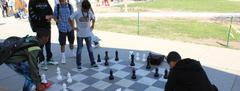 El Capitan students playing chess