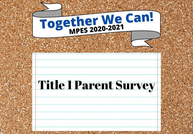 Title 1 Parent Survey Responses Needed Thumbnail Image