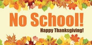 Thanksgiving: No School Thumbnail Image