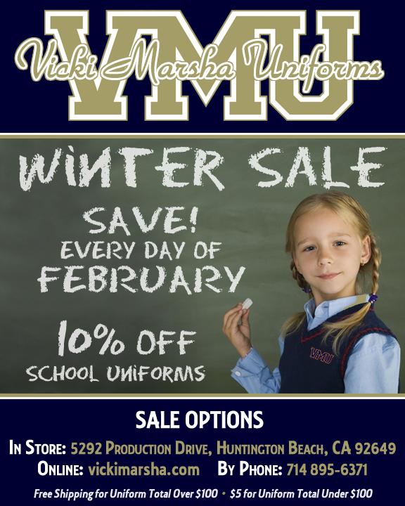Vicki Marsh Winter Uniform Sale Featured Photo