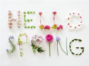 Hello Spring graphic