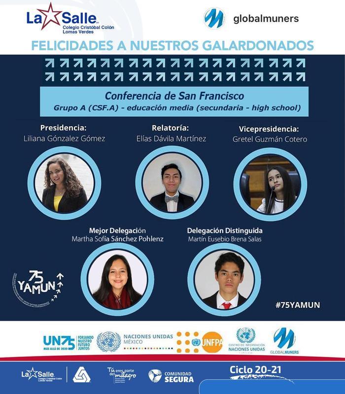 ÉXITO de la Delegación del CCC en Conferencia Modelo de las Naciones Unidas Thumbnail Image