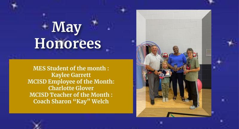 MCISD MAY 2021 Honorees Featured Photo