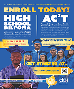 Earn Your High School Diploma Flyer - Fall 2020