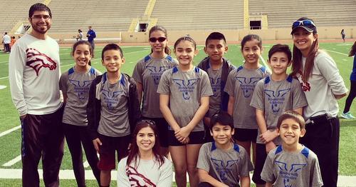 Broncos Track Team