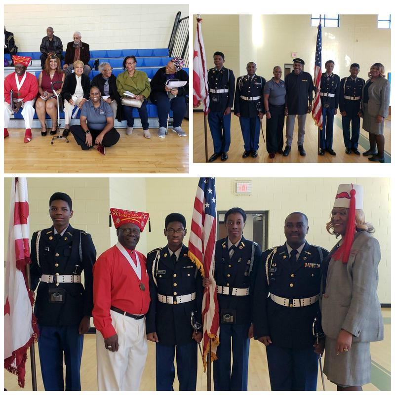 JROTC Cadets Serve as Color Guard for VFW Veterans Day Ceremony Thumbnail Image