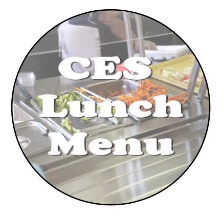 CES Lunch Menu
