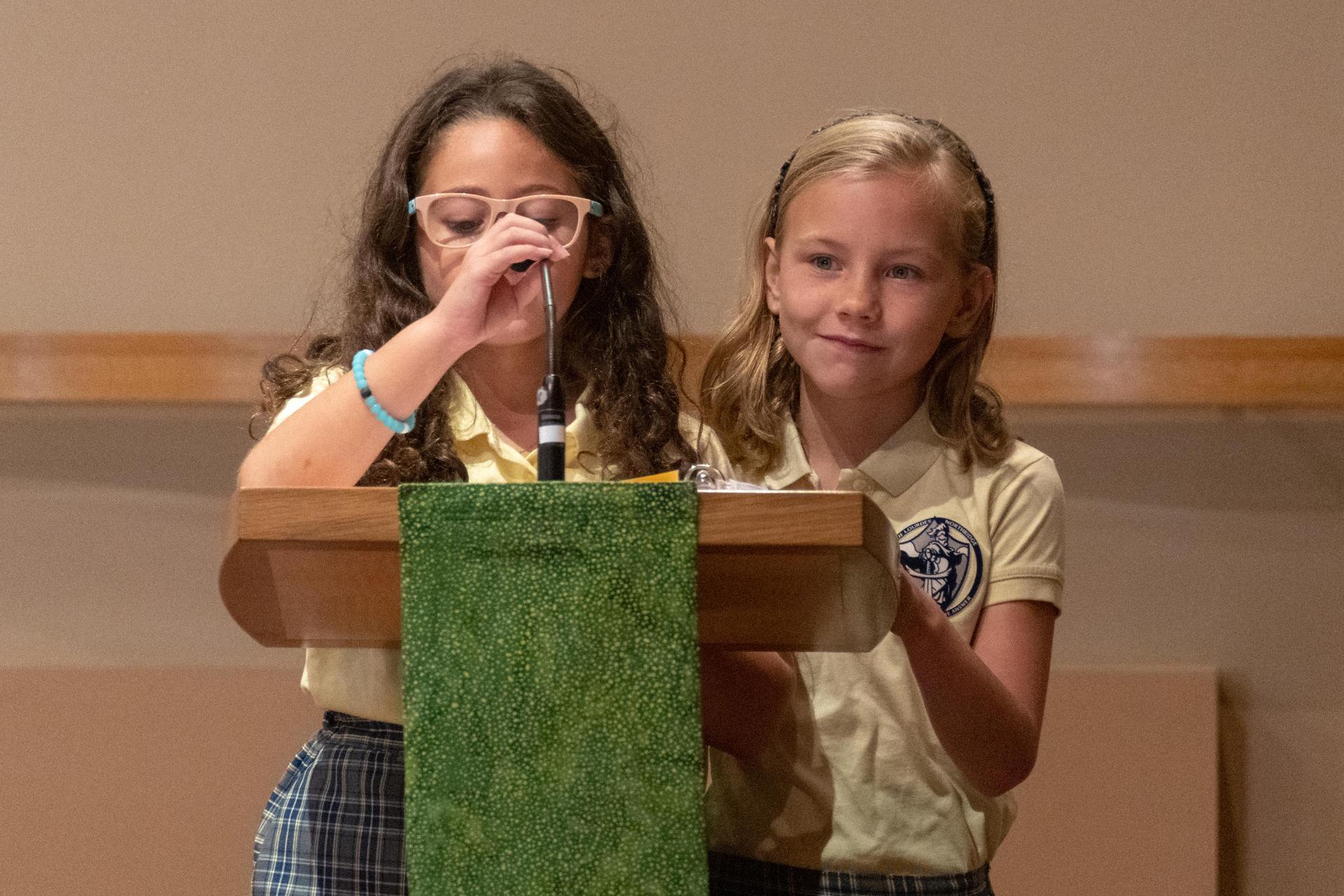 Participating at mass