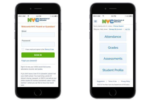 New York City Schools Account