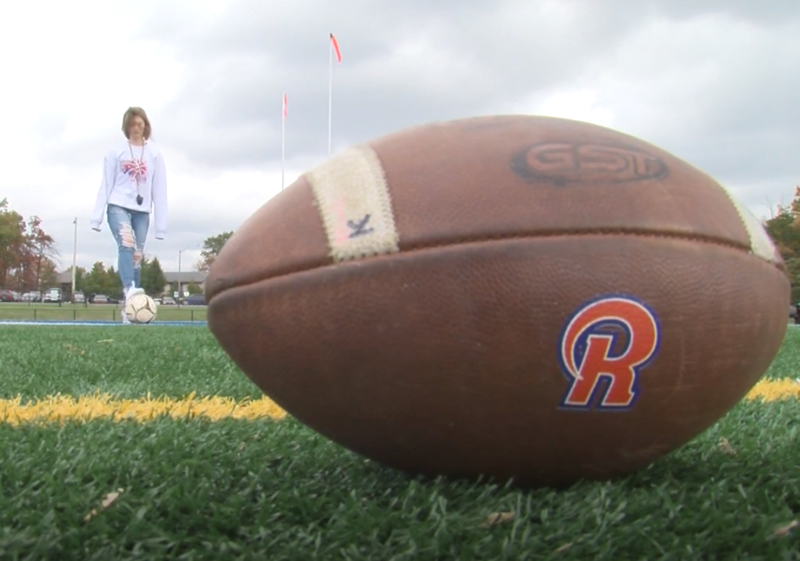 From Soccer Star to Football Kicker, One Richland Junior is Making History Featured Photo