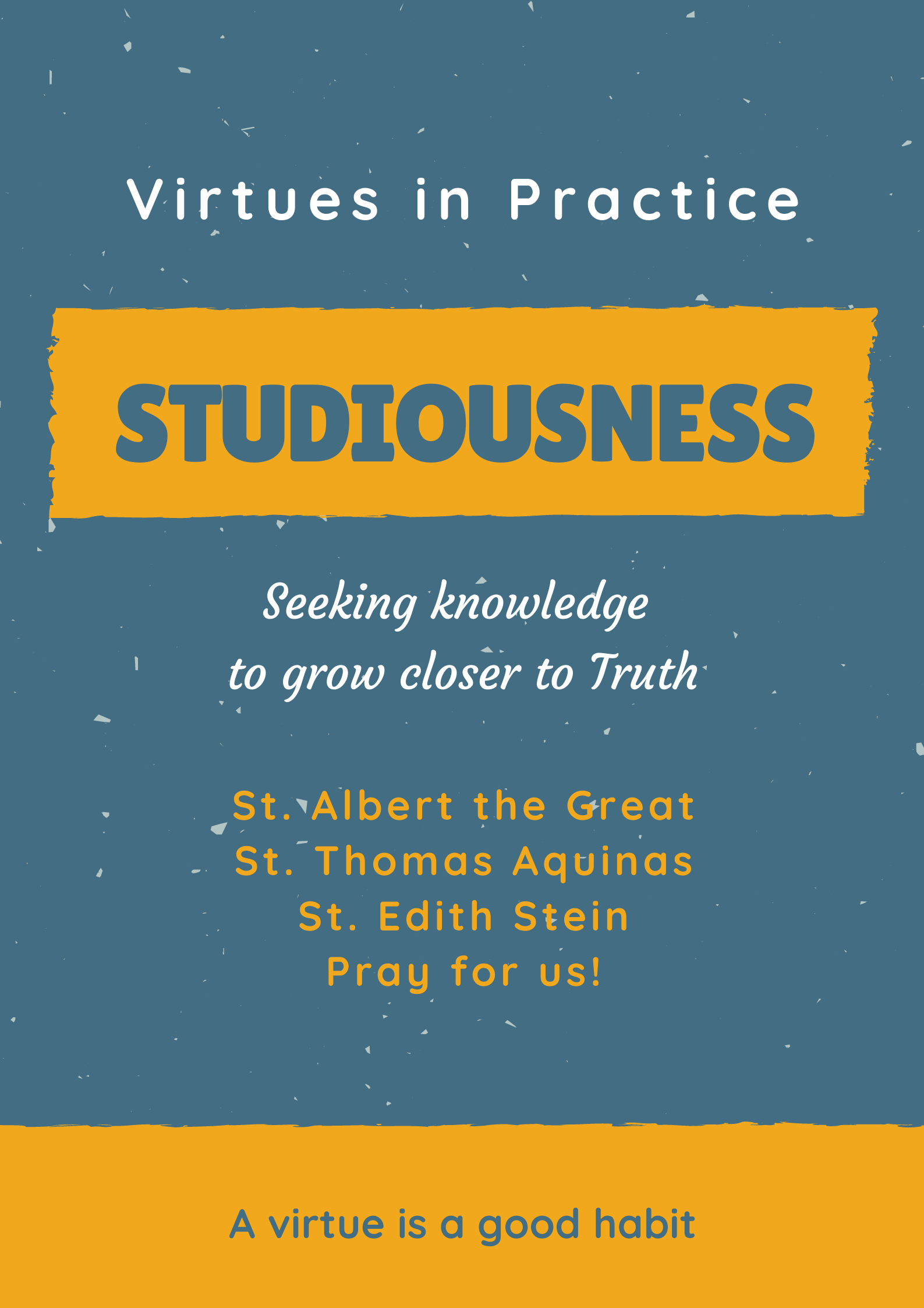 Virtue of Studiousness