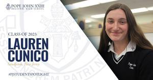 Lauren Cunico PJ Student Spotlight