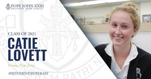 Catie Lovett PJ Student Spotlight