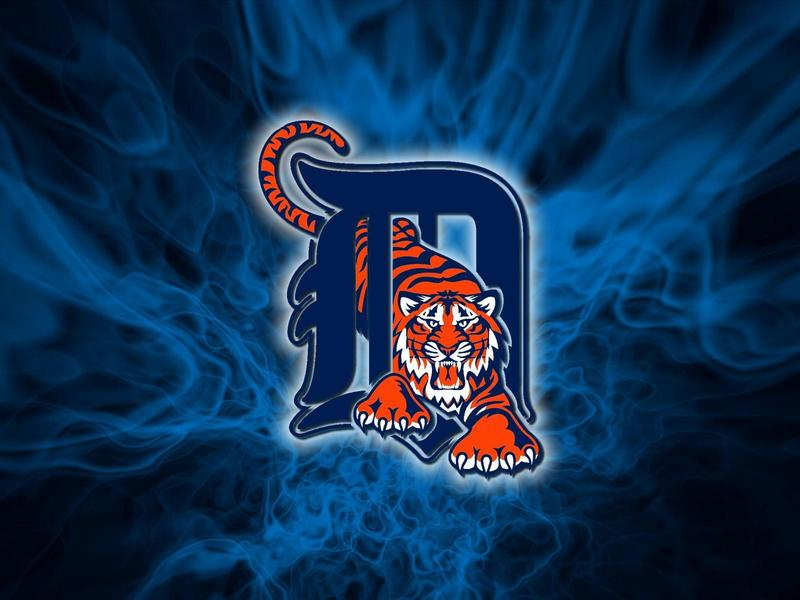 Picture of the Detroit Tigers Baseball Logo