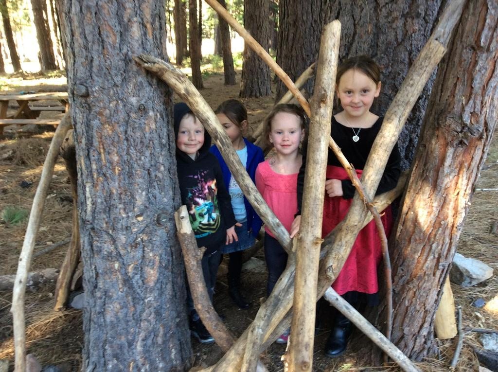 Children and trees
