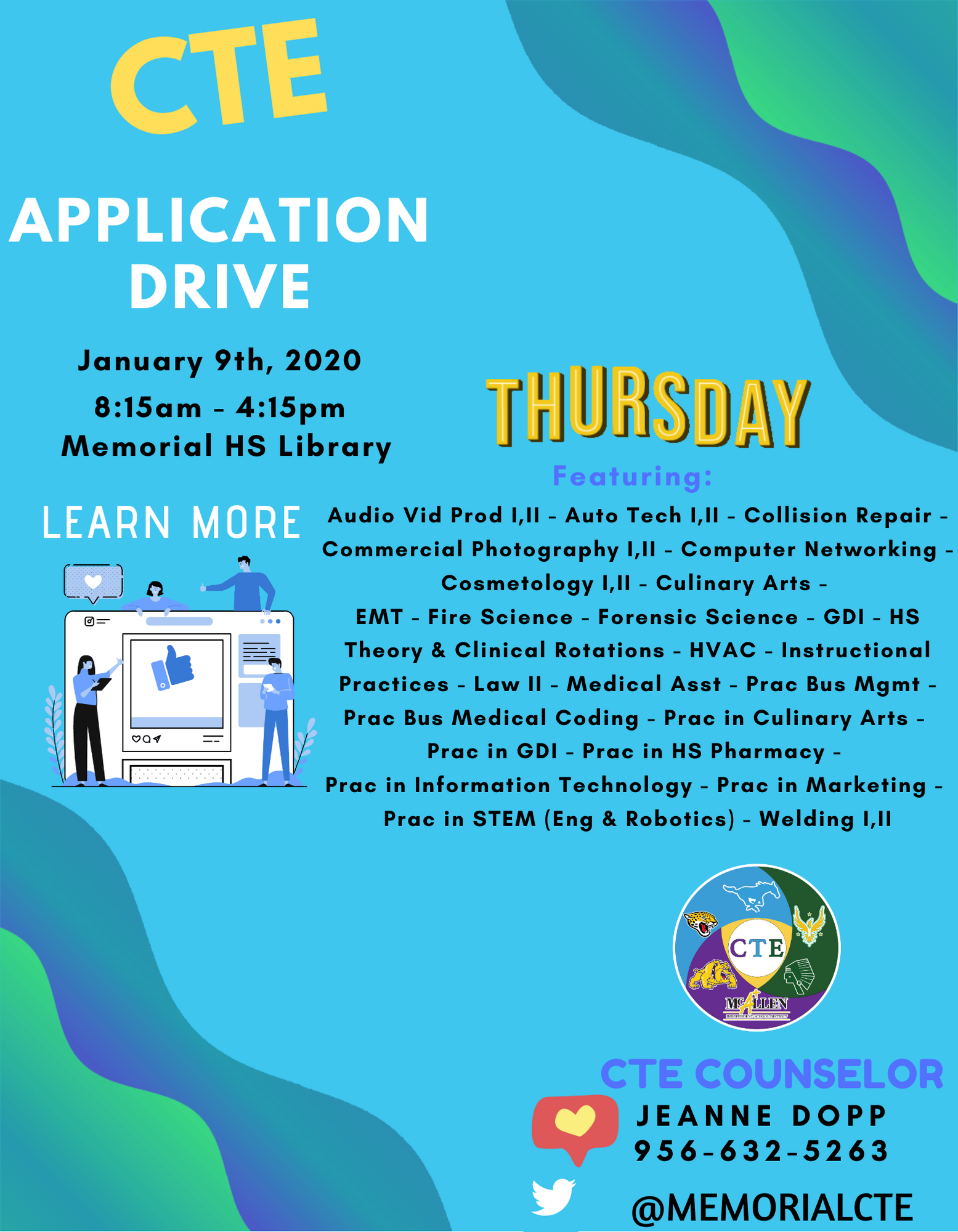 Application Drive Flyer