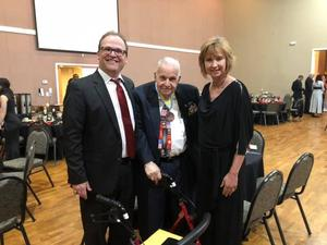 DHS JROTC Ball with WWII Veteran