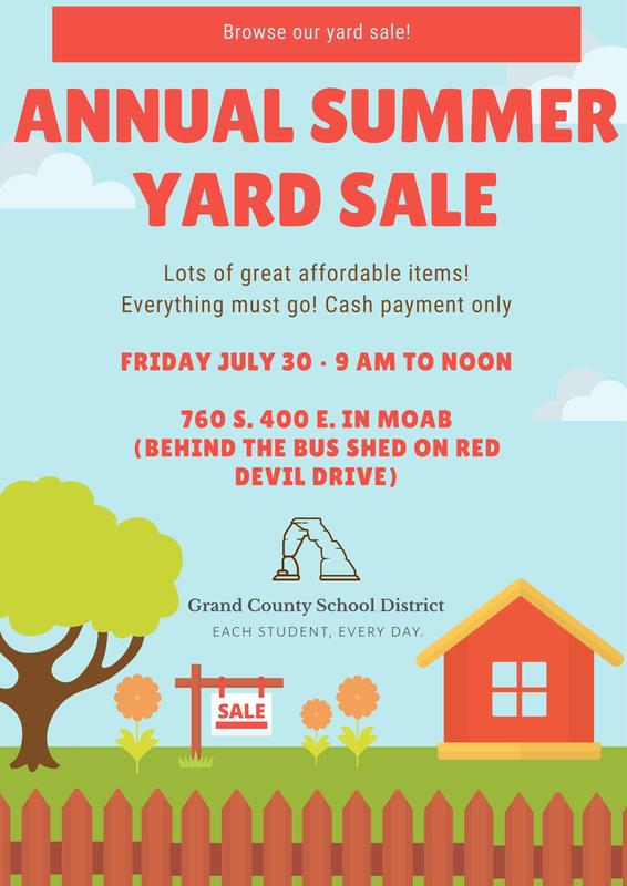 Browse our annual Summer Yard Sale! Featured Photo