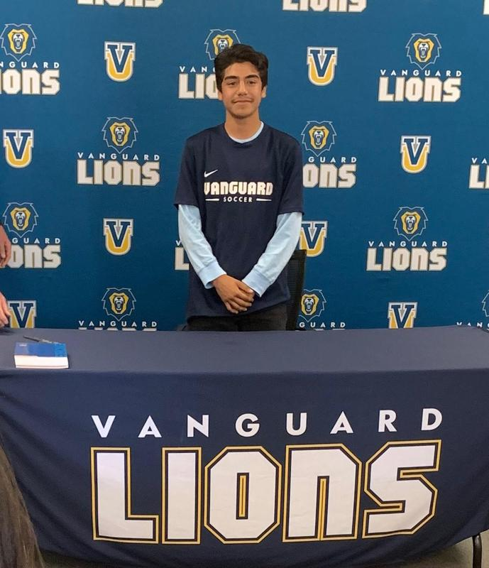 Stewart Alvayero Signs With Vanguard University in Costa Mesa! Featured Photo