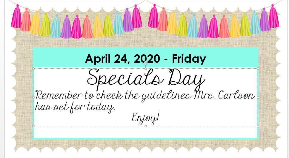 April 24, 2020