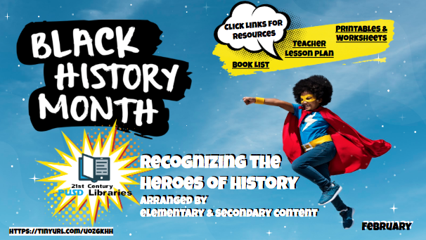 Black History Month image of attached presentation