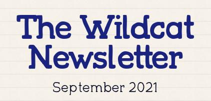 Wildcat Newsletter - September 22, 2021 Featured Photo