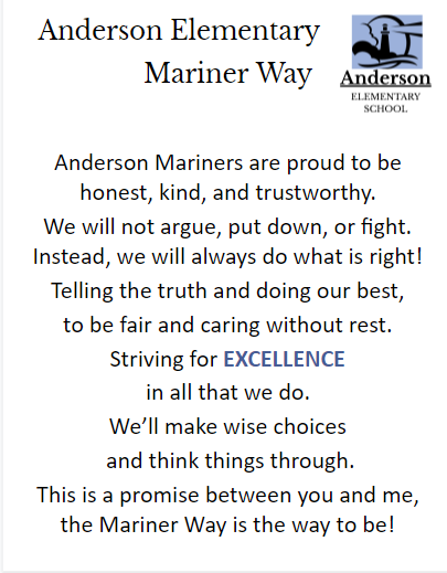 The Mariner Way Pledge