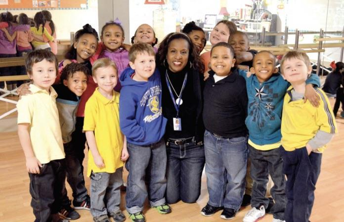 The Leader Recognizes Ms. Deborah Walker Integrates dance, drama into everyday learning