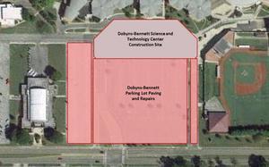 DBHS Parking Lot