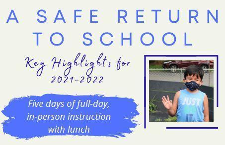 Screenshot of Safe Return Infographic