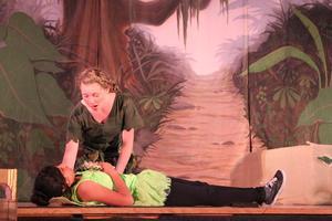 Peter Pan Daphne and Tinkerbell.JPG