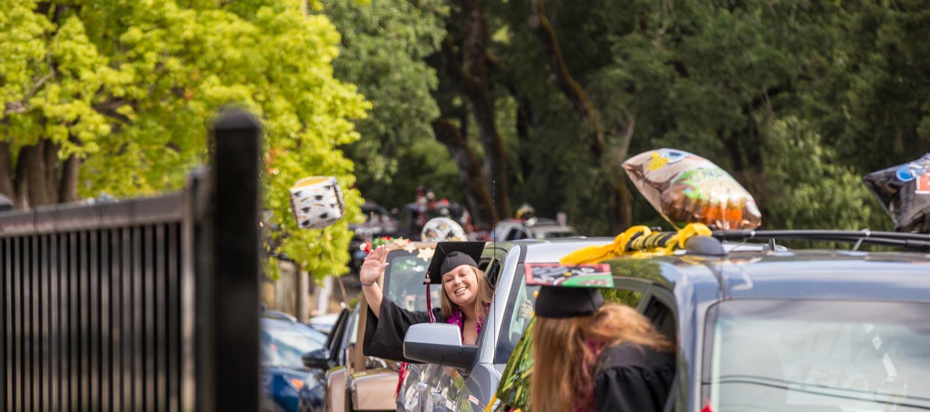 2020 SLVHS Car Graduation