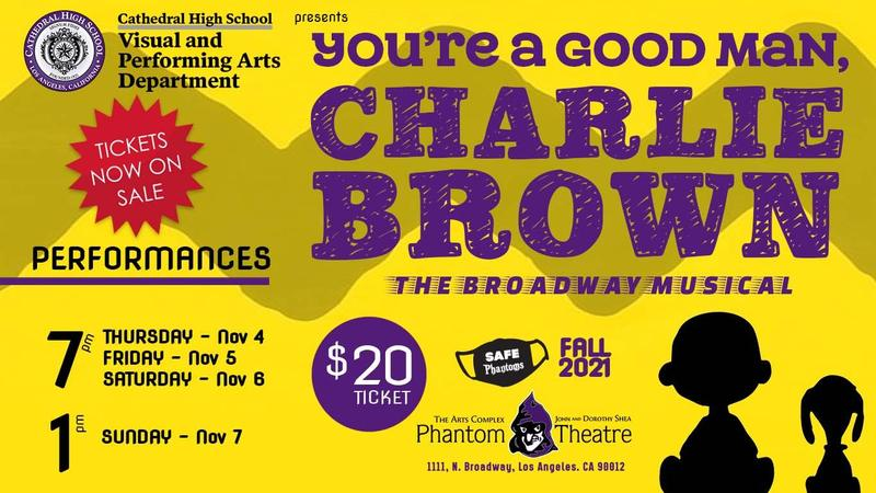 You're A Good Man Charlie Brown - Phantom Theatre Featured Photo