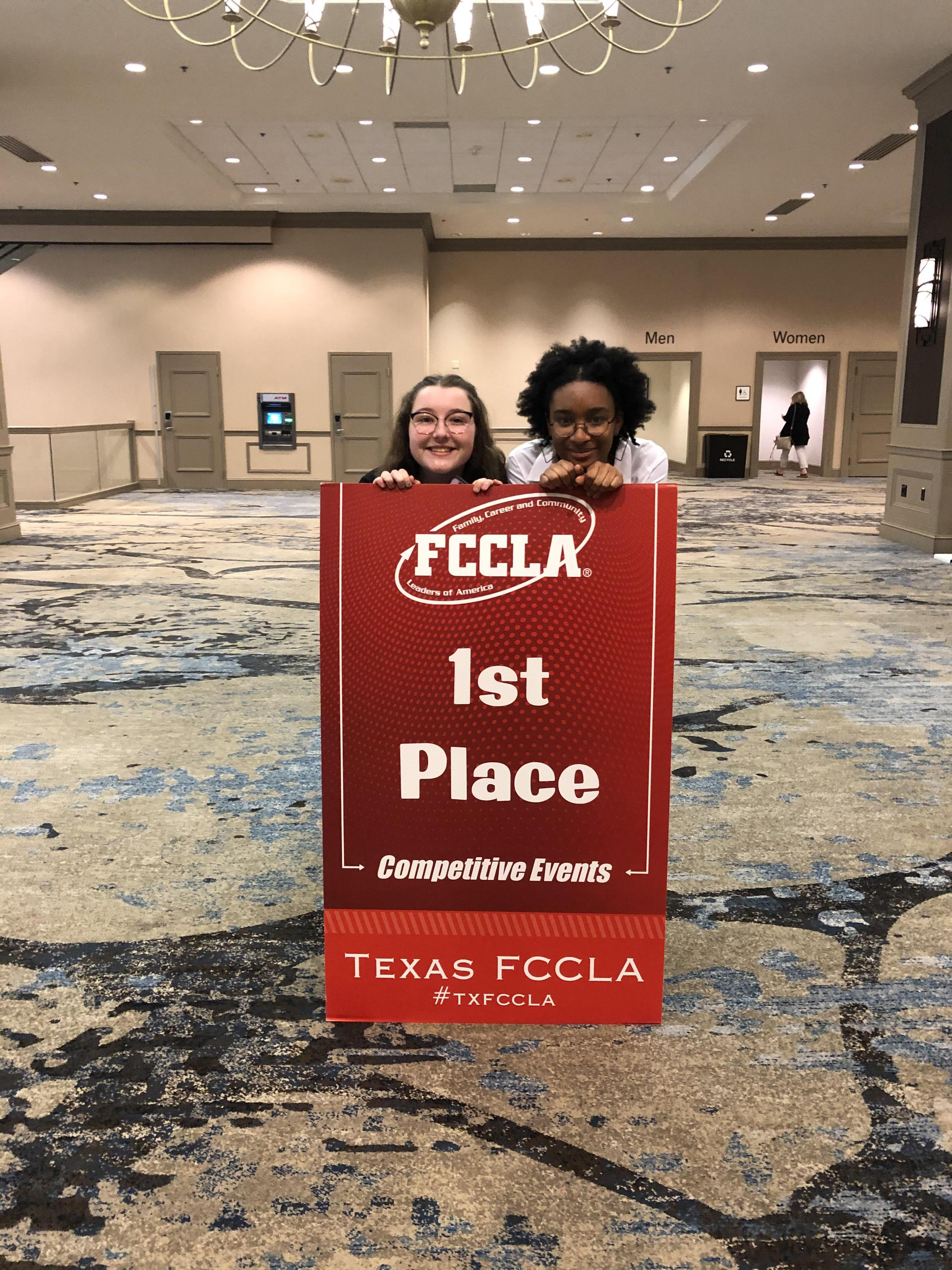 Sanger High FCCLA takes FIRST PLACE at STATE in Entrepreneurship!