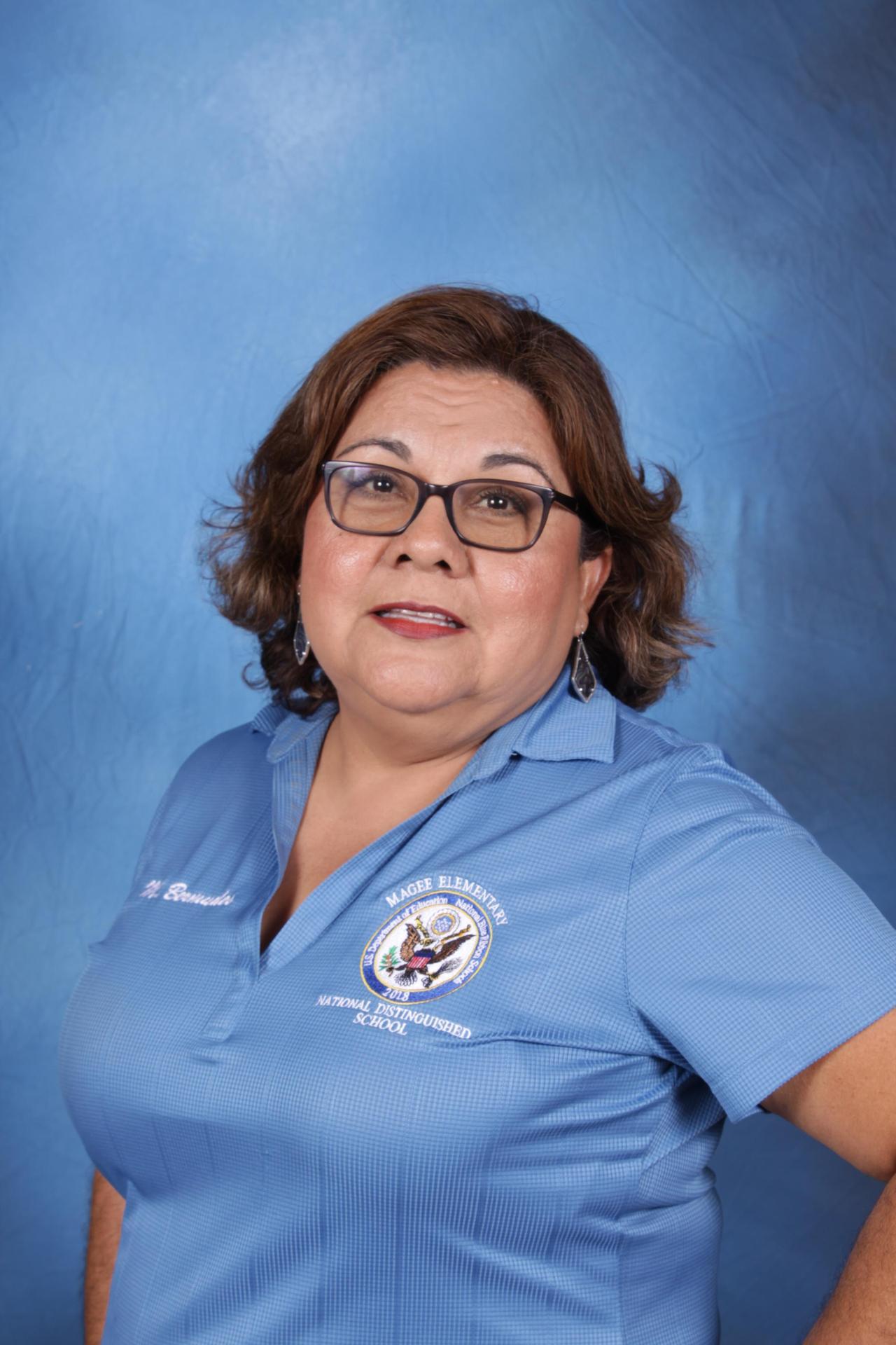 Mrs. Bermudez Librarian